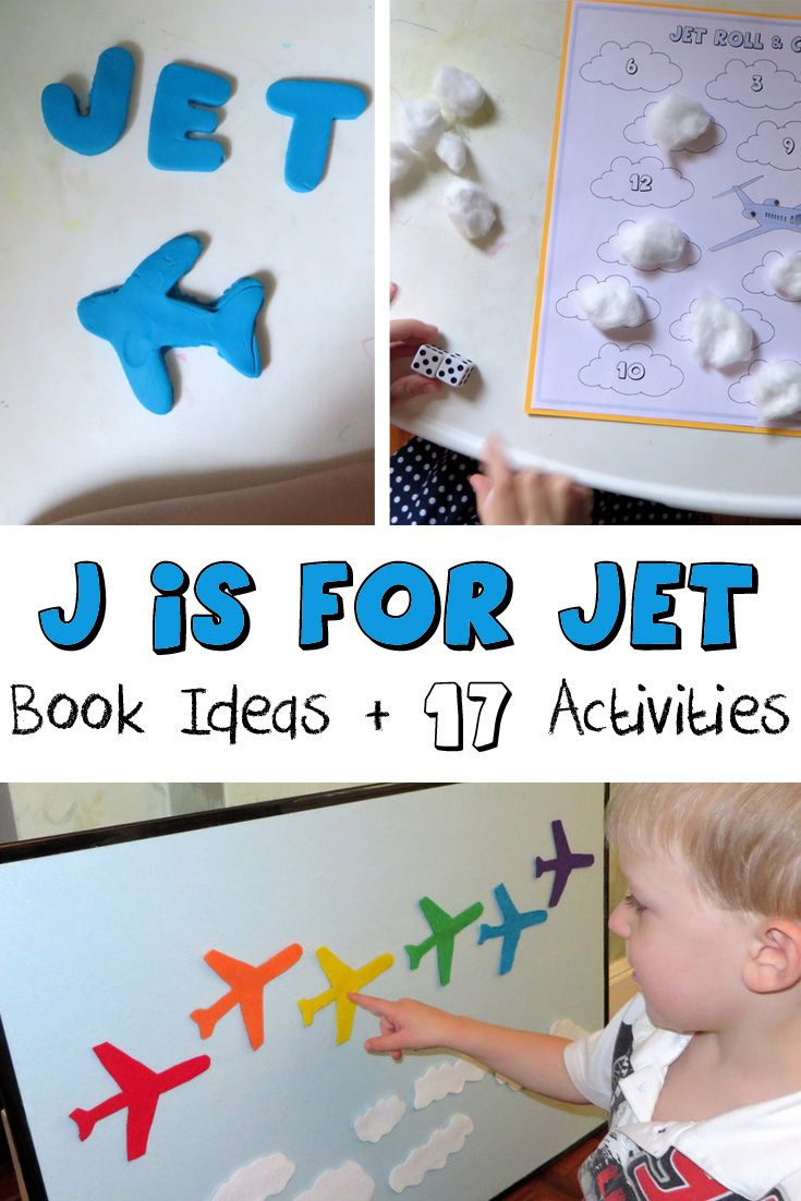 J is for Jet! (With images) | Preschool arts and crafts ...