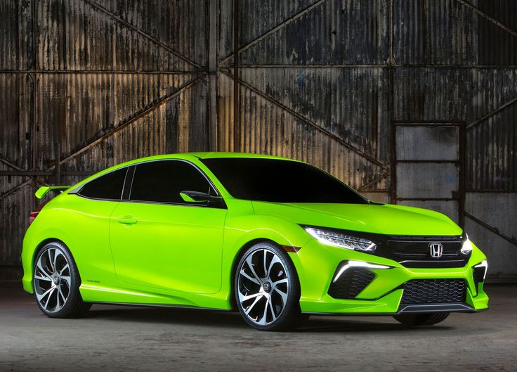 New York 2015 : Honda Civic Concept | le blog auto
