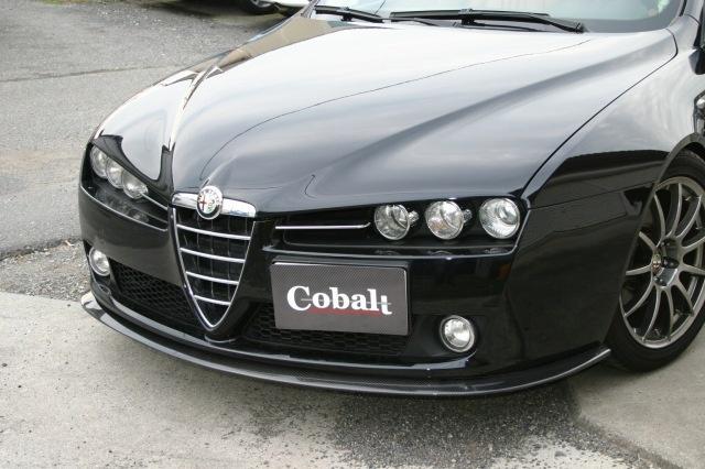 AlfaRomeo 159('06-'11) Carbon Lip Spoiler / Cobalt aero