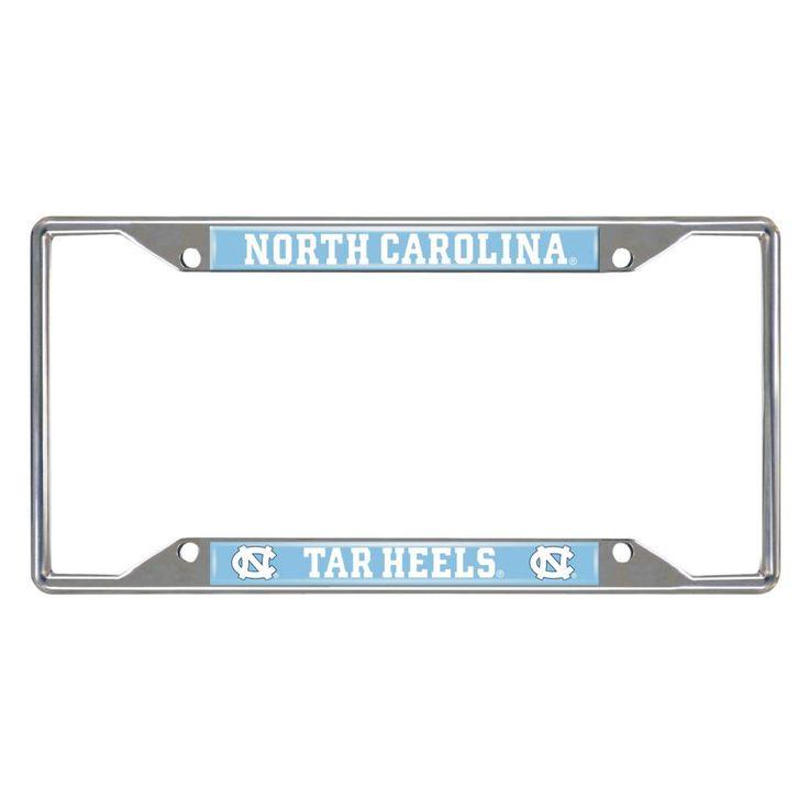Ncaa - University of North Carolina - Chapel Hill License Plate Frame, Grey