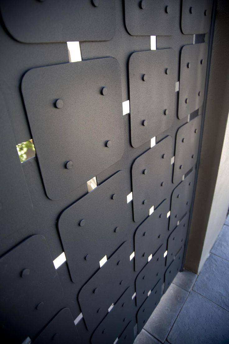 wrought iron gate (detail) by tavoli