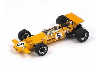 McLaren M7A (Denny Hulme - Winner Mexican GP 1969) in Yellow (1:43 scale by Spark S3120)
