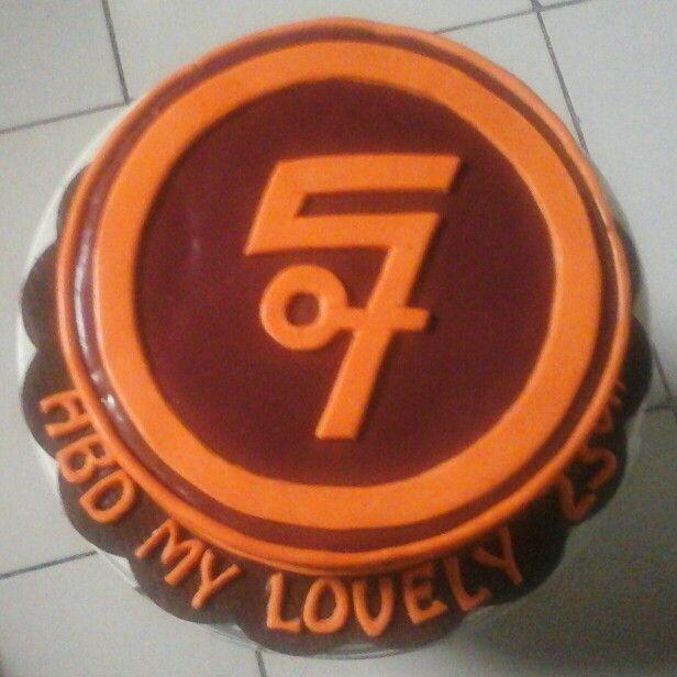 Sheila on 7 cake