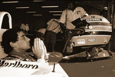 """""""These things bring you to reality as to how fragile you are; at the same moment you are doing something that nobody else is able to do. The same moment that you are seen as the best, the fastest and somebody that cannot be touched, you are enormously fragile.""""  Ayrton Senna"""