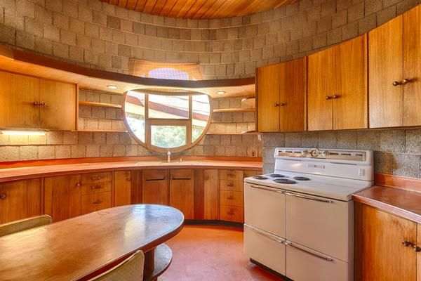 frank lloyd wright house az the kitchen much of the fixtures and furnishings in the home were. Black Bedroom Furniture Sets. Home Design Ideas