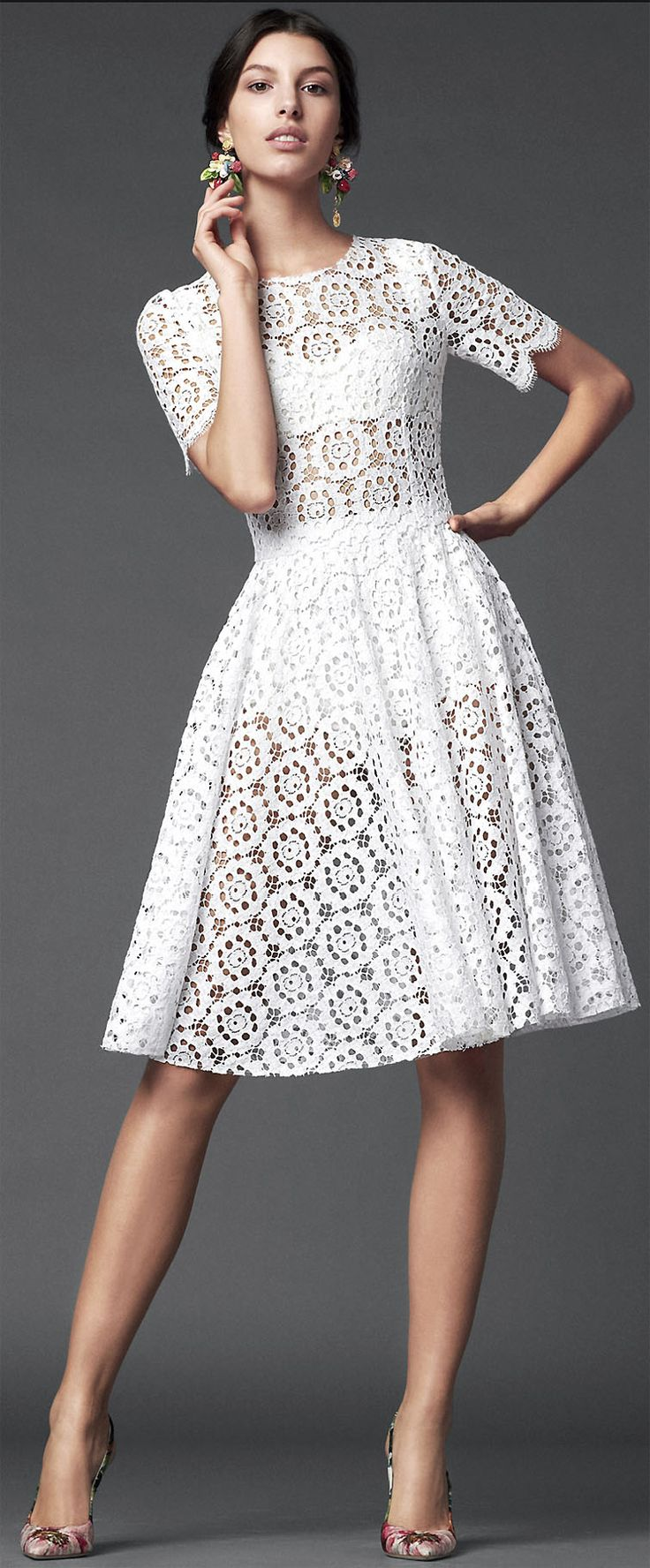 Dolce and Gabbana - one word for their designs: LUSH @TopCashback #Designer #Dresses