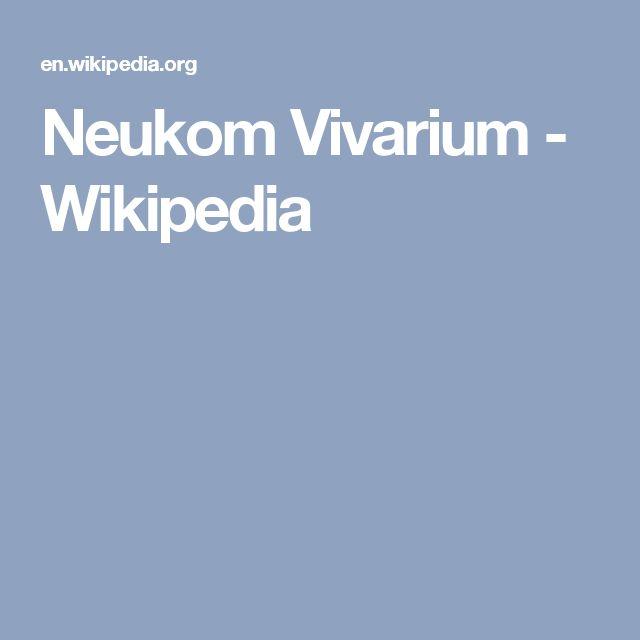 Neukom Vivarium - Wikipedia