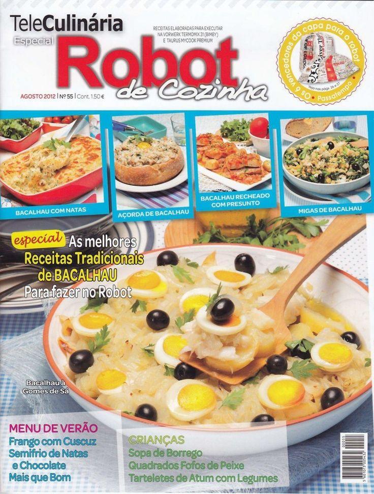 TeleCulinária Robot de Cozinha Nº 55 - Agosto 2012