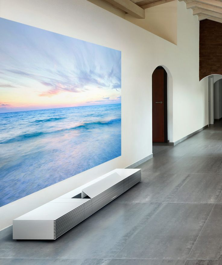 Sony's Gorgeous, Floor-Borne Short-Throw Projector Channels Classic Braun Design  Cabinet, speakers, projector
