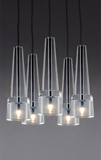 Keule 5 pendant the keule suspended luminaire is available in 1 2 or 5 pendants chandelier