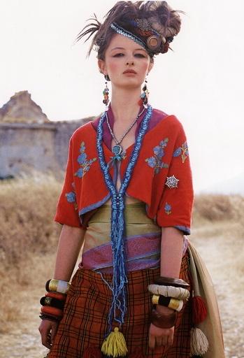Bohemian style from @rowan magazine 39