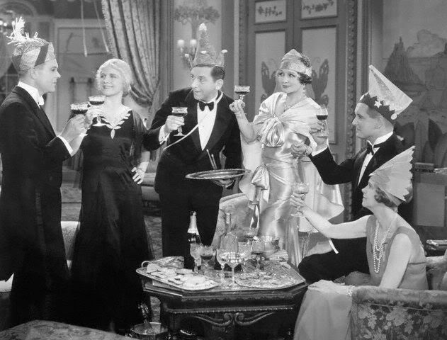 Holiday (1930) dir by E.H. Griffith with Ann Harding, Mary Astor, Robert Ames, Monroe Owsley, Edward Everett Horton