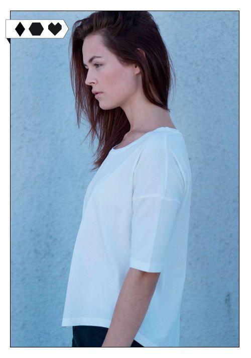 Boxy Shirt (Funktionschnitt): 100% Organic Cotton, GOTS zertifiziert. Fair hergestellt in Portugal. VEGAN/ECO/SOCIAL/*40€*