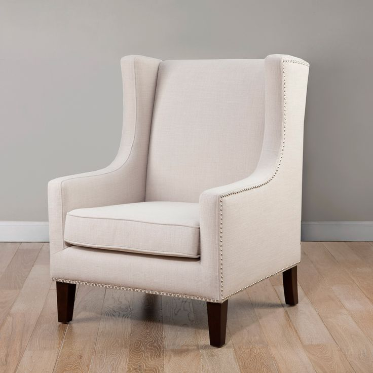 Whitmore Wing Lindy Chair - Overstock™ Shopping - Great Deals on Living  Room Chairs - 22 Best Images About Chairs From Overstock On Pinterest Taupe