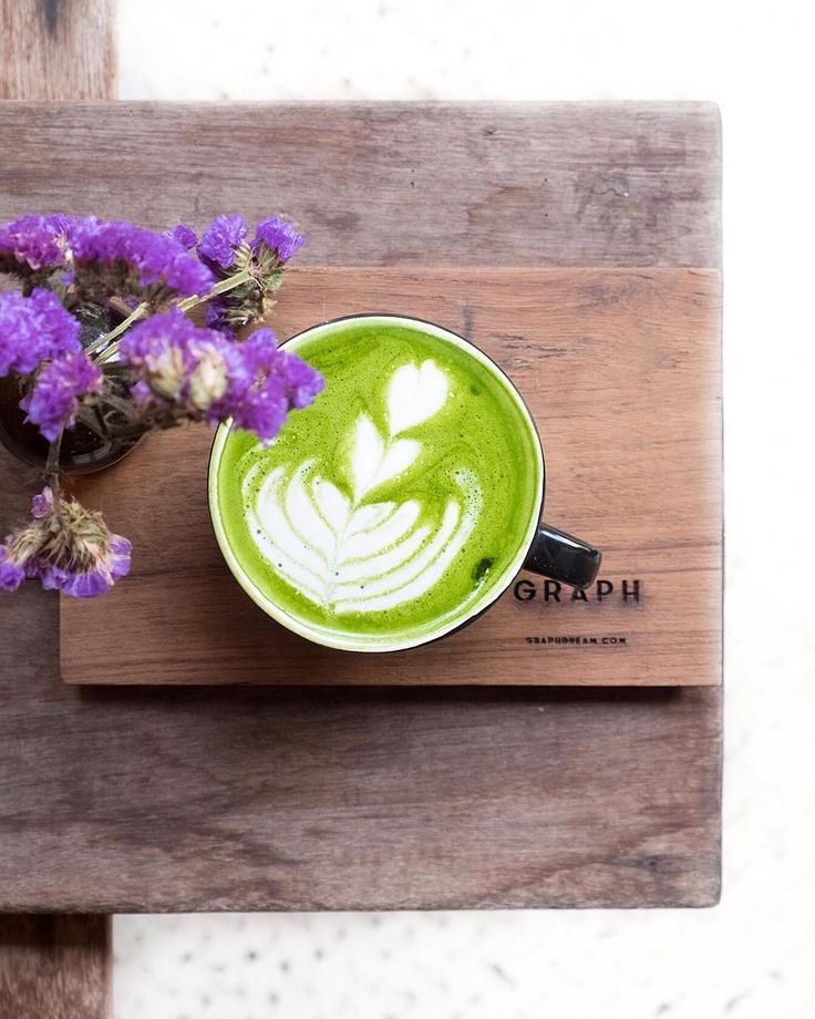 Matcha latte deliciousness    @yausophie  . Want to create your own zen? Try our Ultra Premium Green Tea today. Link in bio!