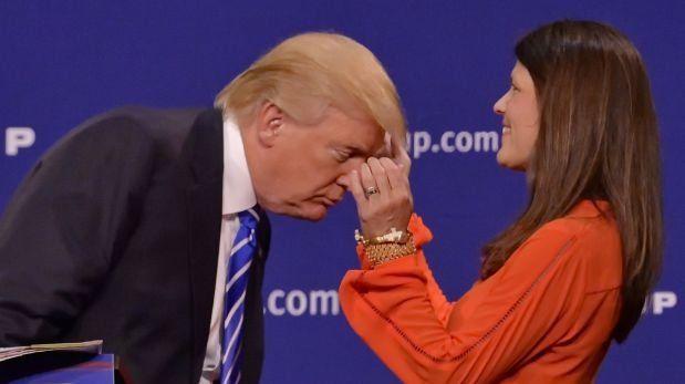 """Donald Trump habló de su """"peluca"""" y de Jorge Ramos"""