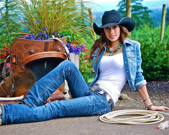 real rodeo girls nude