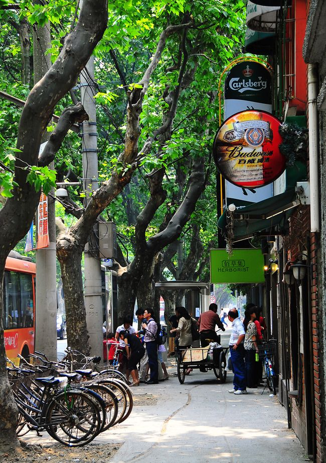 Former French Concession, Shanghai, China http://www.townscapehousing.com/area/french-concession.html