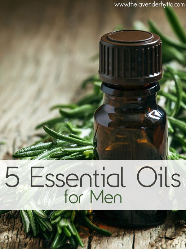 Here are the top 5 ways you can use essential oils for men