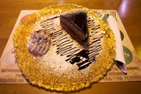 Chocolate cake: torta al cioccolato fondente... impossibile resistere!