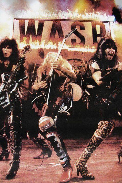 W.A.S.P.  #80smetal