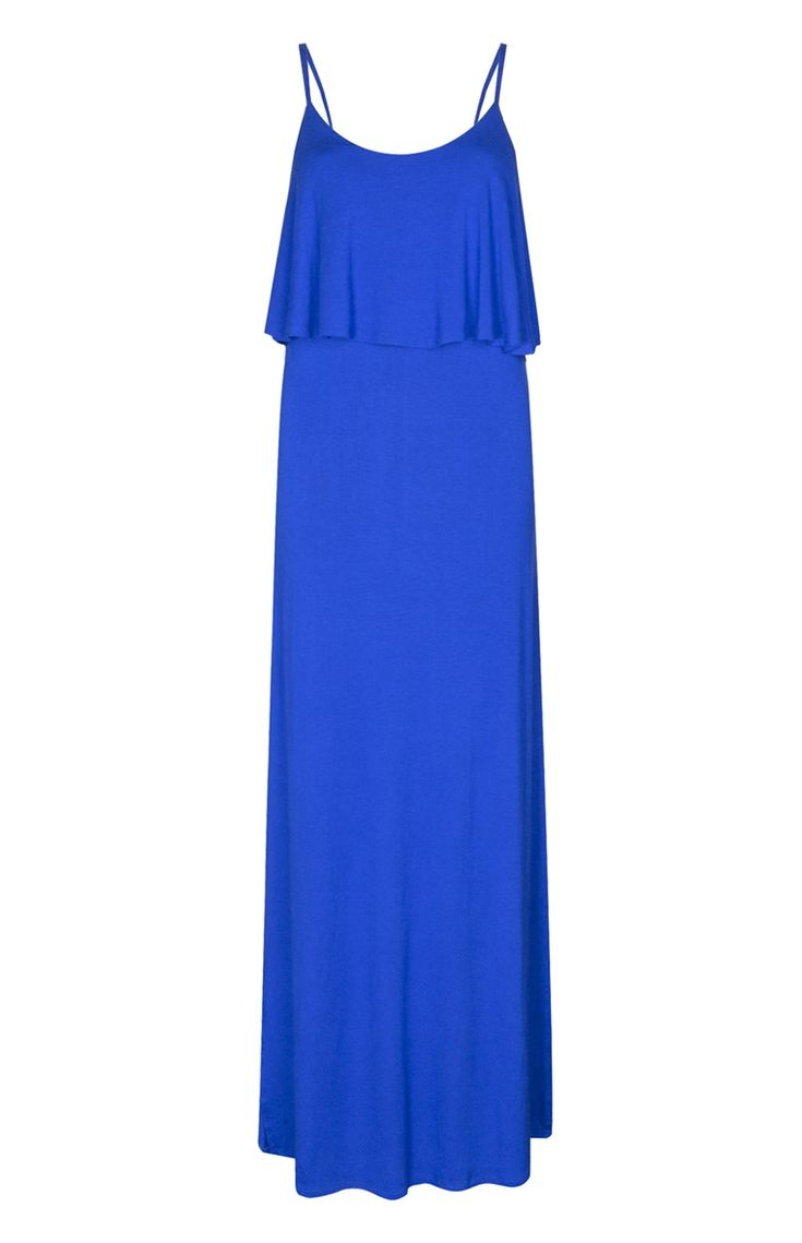 Primark - Blue Double Layer Maxi Dress