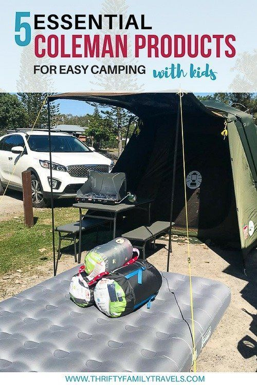 5 Essential Coleman Products For Camping Camping With Kids Camping Lights Outdoor Camping