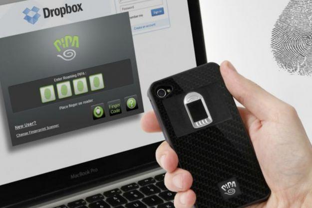 Biometric iPhone case unlocks using fingerprints