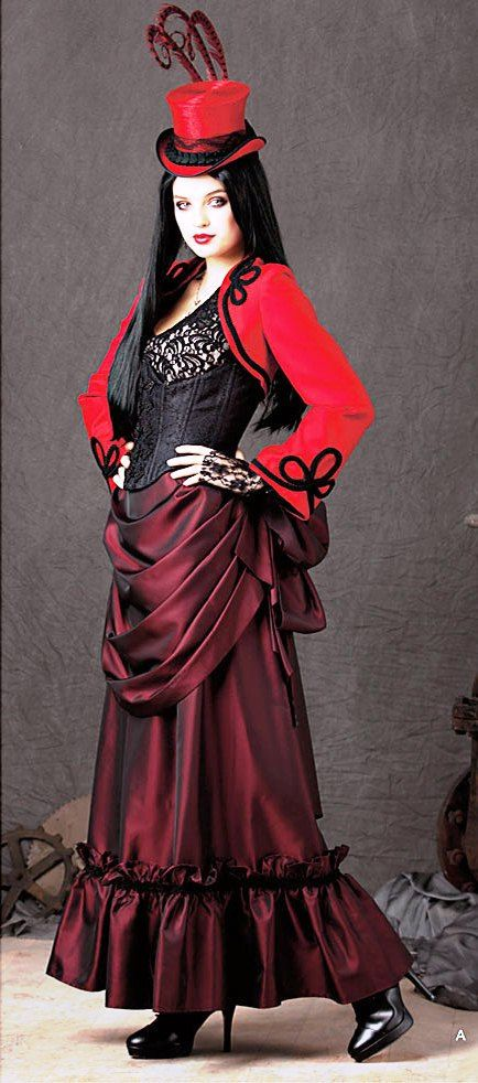 Steampunk Gothic Costume by BouChicDressmakers on Etsy, $349.99