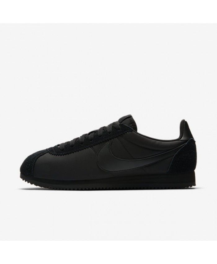 competitive price 4a728 d5b7e Men s Nike Classic Cortez Nylon Black Anthracite Black