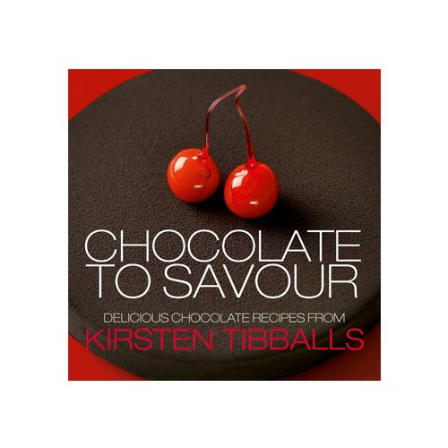 Chocolate to Savour by Kirsten Tibballs This stunning debut cookbook by internationally renowned and award winning pastry chef Kirsten Tibballs is the definitive guide to the art of chocolate and pastry. This award winning book features exquisite recipes for you to make including entremets, chocolate bars, tarts, macarons, petit gateaux and much more. @ Savour School