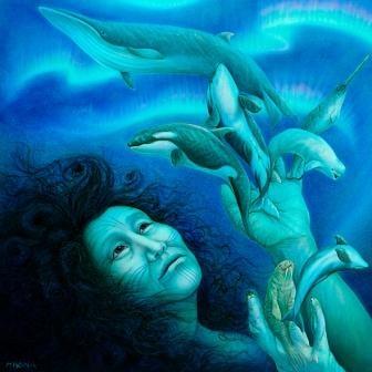 Sedna (Inuit) Goddess of Abundance through Generosity. My Goddess for 2015. http://www.tapintoyoursuccess.co.uk