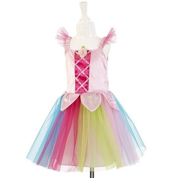 Mooie regenboog circus tutu jurk Nuria. Vandaag besteld, morgen in huis!