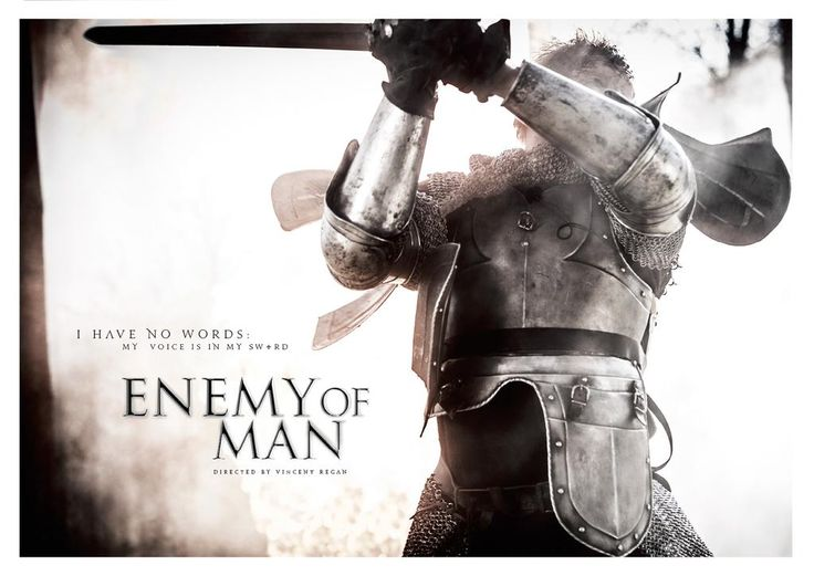 "Oct 21 2015: @ CiaraMcAvoy Started my next commission #EnemyofMan #keyart #workinprogress #SeanBean #RupertGrint  https://www.youtube.com/watch?t=13&v=033y_rXLIAg  I asked Ciara about the status of Enemy of Man and she replied ""Several US Compagnies are interested in acquiring the foreign sales rights to Enemy of Man & things are moving forward :)"""