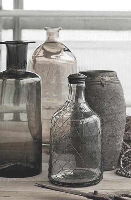 Grey glass