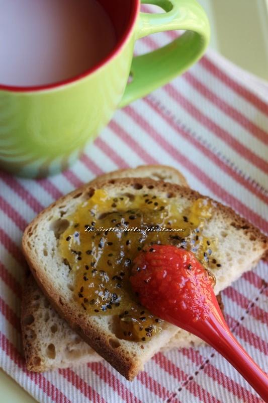 La ricetta della felicità: Confettura di rana...o quasi... al limoncello per fare il pieno di vitamina C !