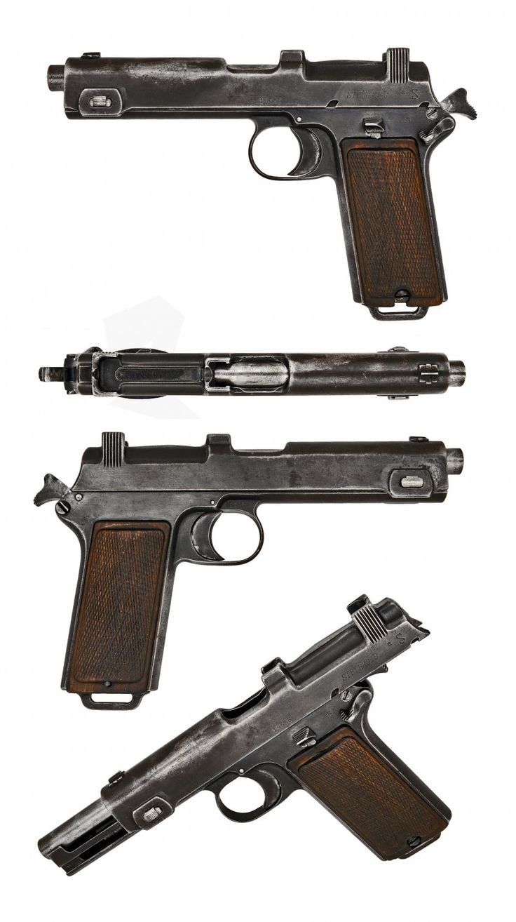 422 Best Defense Images On Pinterest Revolvers Firearms And Hand Guns Exploded View Of The Taurus Pt92 Af Also Sig 1911 Diagram Austrian Steyr Hahn M1912 Full 2k 840