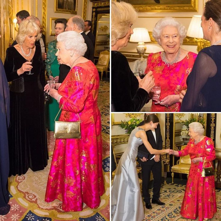 Last Night Her Majesty Queen Elizabeth II Held A Event At Windsor Castle To Celebrate The Diamond Jubilee Of The Aga Khan's Leadership.  via ✨ @padgram ✨(http://dl.padgram.com)