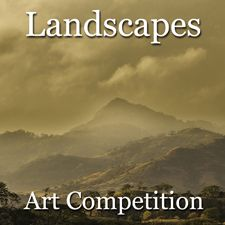 The Landscape theme will be the artist's interpretation and depiction of the natural world, outdoor scenery, geographical environments', scenic vistas and related landscape subjects.  The deadline to apply to this art competition is March 27, 2016.https://www.lightspacetime.com/newsletter/6th-annual-2016-landscapes-online-art-competitio