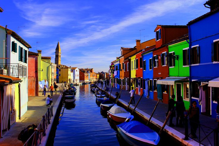 """Color is the melody of light.""  Burano island, Venice, Italy."