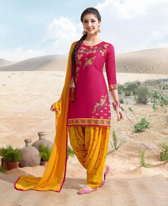 #hey @a1designerwear . Item code: ADF81769 . Buy Charming Pink Patiala #salwar #kameez #onlineshopping with #worldwideshipping at  https://www.a1designerwear.com/charming-pink-patiala-salwar-kameez-5   . #a1designerwear #a1designerwear . #instashop #worldwide #thankyou
