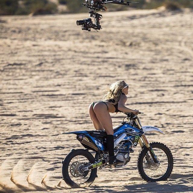 Sex on dirt bike