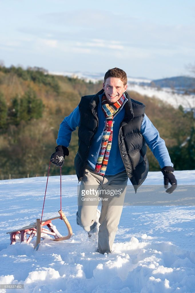 Image result for pulling sled snow