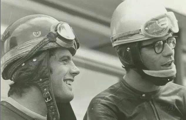 Giacomo Agostini and Renzo Pasolini