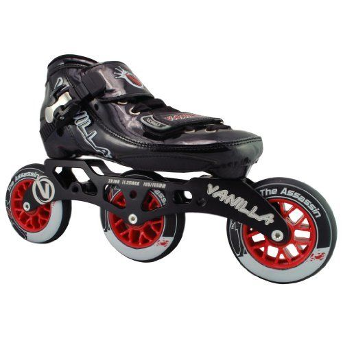 Vanilla Assassin Jr Inline Skates - Vanilla Assassin Jr Speed Skates by Vanilla. $209.00. Vanilla Assassin Jr Inline Skates - Vanilla Assassin Jr Speed Skates - Check out the brand new inline speed skates from Vanilla Skates - the Vanilla Assassin Junior! The Vanilla Assassin Junior! speed inline skates are perfect for everyone who loves inline skates from the casual recreational skater to the inline speed racing skater. The Vanilla Assassin Junior inline skates fe...