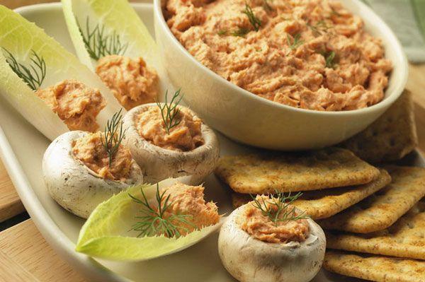 Easy Salmon Spread   mediterranean diet   Pinterest