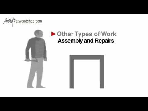 What is the best height for your workbench? This video explains how to determine that.