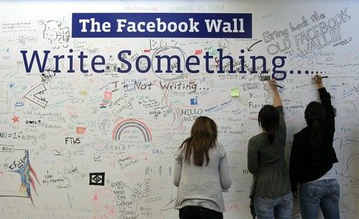 The Facebook Wall (in real life)