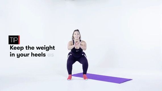Model Ashley Graham Teaches Us 5 Workout Moves You Can Do At Home