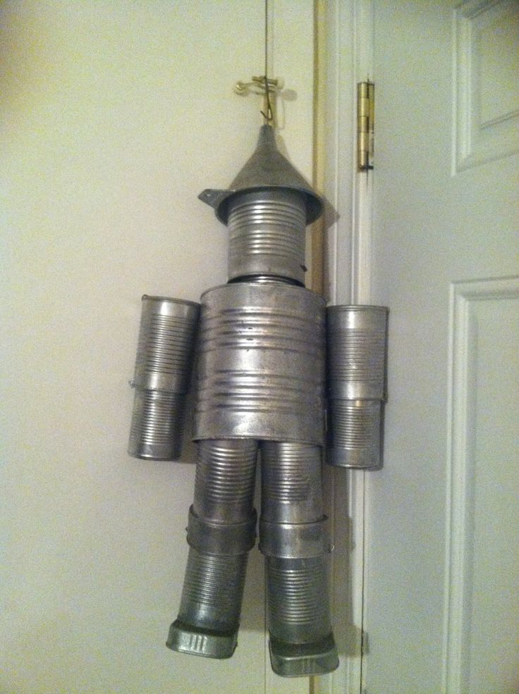 1000 images about tin man on pinterest coffee cans for Tin man out of cans